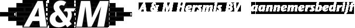 A & M Hersmis BV aannemersbedrijf logo